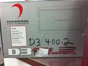 DIAMOND AUDIO Car Amplifier D3 400.2