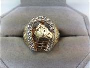 Gent's Gold Ring 14K Yellow Gold 7.4g