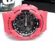 CASIO RED QUARTZ G-SHOCK 5081 WATCH