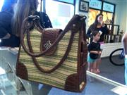ROSETTI BROWN AND GREEN BAG