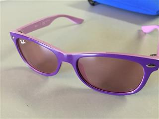 best prices on ray ban sunglasses  purple/pink sunglasses