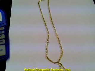 "20"" NO STONE(S) Gold Rope Chain 14K Yellow Gold 8.7dwt"