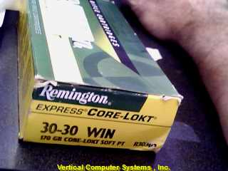 REMINGTON  30-30 WINCHESTER  170 GR CRLD SP 1/2 FULL YELLOW_AND_GREEN
