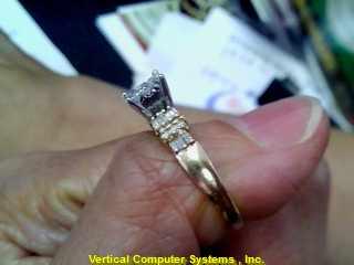 DIAMOND   L'S 14KT DIAMOND  2.1/YG