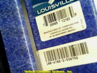 LOUSIVILLE W-3215-08 PAINT LADDER   100-AT06-D590756 FIBERGLASS