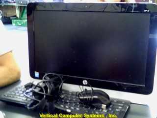 19-2113W COMPUTER-DESKTOP HEWLETT-PACKARD  _SCREEN BLK