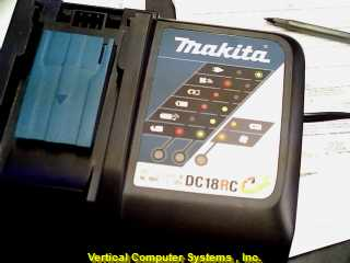 MAKITA_BATTERY_CHARGER DC18RC__S  MAKITA  P/N 63028F2 BLK