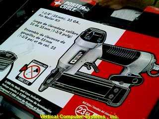 PIN138 NAIL GUN PORTER CABLE   NEW_IN_BOX