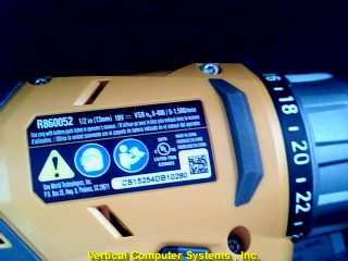 Cordless Drill R86008K