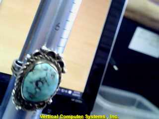 TURQUOIS   L'S STERLING SILVER TURQUOIS  5.5/.925