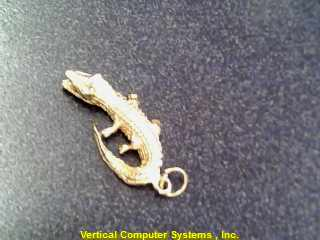 IT_IS_A_GATOR CHARM 14KT   2.00/YG