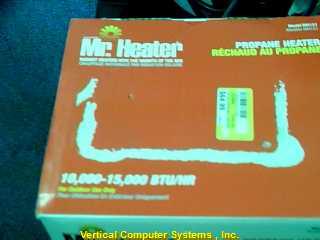 MR HEATER Heater MH15T