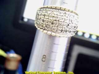 L'S 14KT Lady's Diamond Fashion Ring DIAMOND 56 Diamonds .56 Carat T.W.