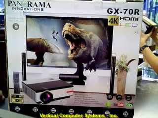 PANAROMA Projector W/REMOTE /GX70R