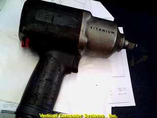 INGERSOLL RAND INC. Air Impact Wrench 2135QTIMAX