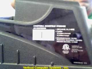 CAMPBELL HAUSFIELD Air Compressor FP209402