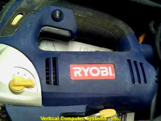JS451L JIG SAW RYOBI  WITH LASER AND BAG BLUE