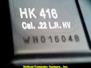 H_&_K_/_CARL_WALTHER_GER H&K_416 PISTOL-SEMI AUTO H & K 22 LR HARD CASE 20RND BL