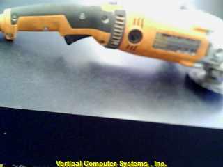 R1020 GRINDER RIDGID  PW904 13.0AMP 160.00 NEW CORDED ORG_BLK