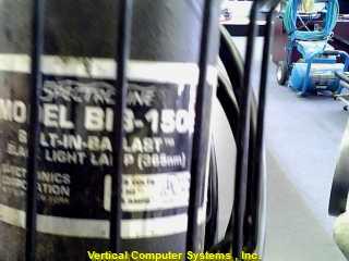 SPECTROLINE BIB_150B ASSORTED X   BUILT IN BALLAST BLACK