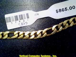 FIGARO Gold Figaro Bracelet 14K Yellow Gold 11.4dwt