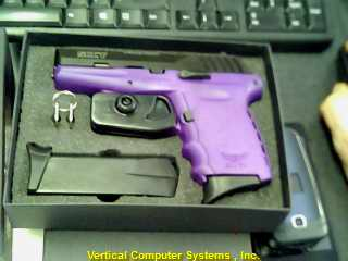 9MM CPX-2_CBPU/S0109B PISTOL-SEMI AUTO SCCY INDUSTRIES 9MM PURPLE BLK 2 MAGS CAR