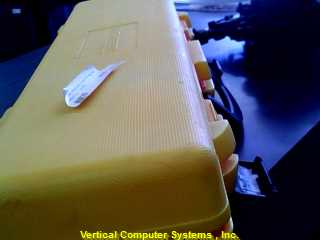 JOHNSON HOT_SHOT__9105    YELLOW CASE, LEVELING LASER, ID# 2787 YELLOW