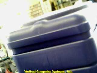 WAXMASTER WB9000 FLOOR POLISHER   ID# 1381/WILTON WAXMASTER ORBIT/POLISHER BLUE