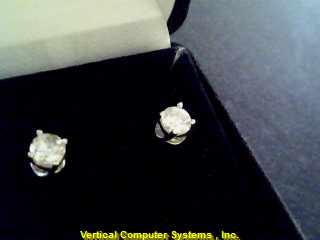 DIAMOND  EARRINGS L'S 14KT DIAMOND PW822 1
