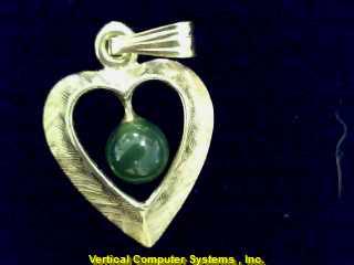 HEART  CHARM 14KT HEART PW4634 .5/YG
