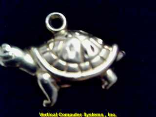 ANIMAL ANIMAL/_TURTLE CHARM 14KT ANIMAL PW4635 .3/YG