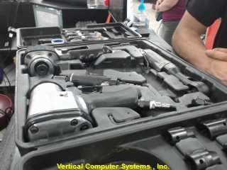 TASKFORCE NVMN    4 PIECE NUMATIC DRILL SET AUTOMOTIVE SET SILVER