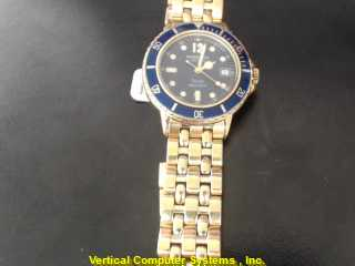 WEIL TANGO GOLD/SILVER WATCH PLATED   RAY ST SIL WMS WATC