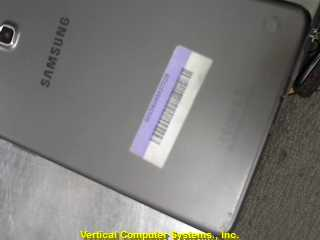 SAMSUNG SM-T350 IPAD/IPOD/TABLET    GREY