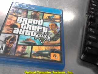 PS4 GRAND_THEFT_GAME     BLUE