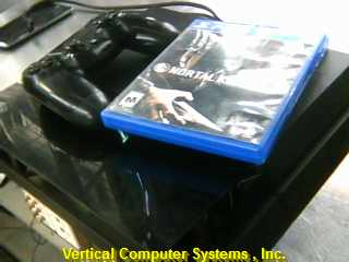SONY CUH1001-A    INCLUDES THREE GAMES ONE IN SYSTEM BLACK