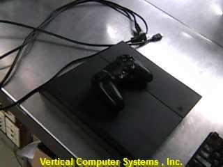 SONY CUH-1215A PLAYSTATION 4 SYSTEM    BLACK