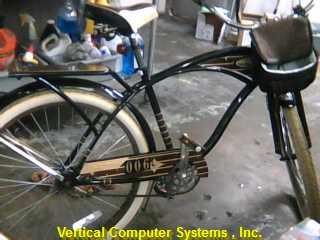PANAMA_JACK M'S 3 SPEED BICYCLE HUFFY   BROWN/BLACK