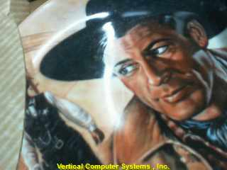 PAINTING/PICTURE   GARY COOPER PLATE