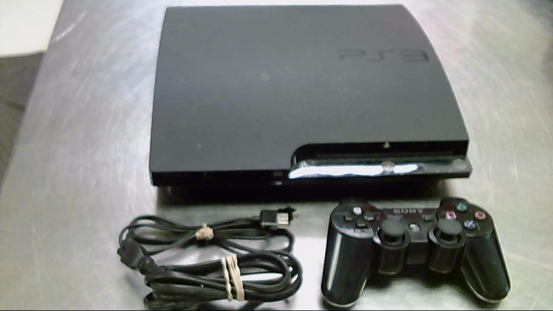 SONY PS3 160G 2501A #CG836194324,CONTROL,CORDS