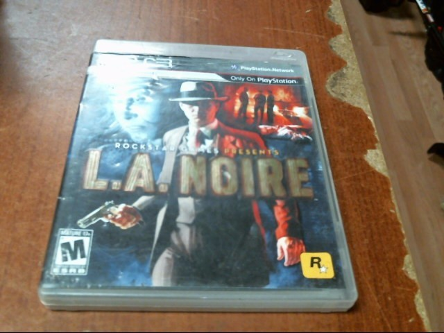 SONY PS3: L.A. NOIRE