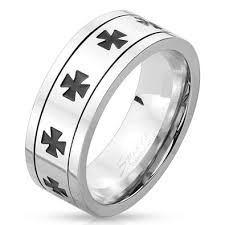 Gent's Ring Silver Stainless 6dwt