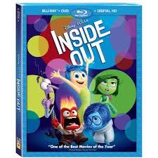 BLU-RAY MOVIE Blu-Ray INSIDE OUT