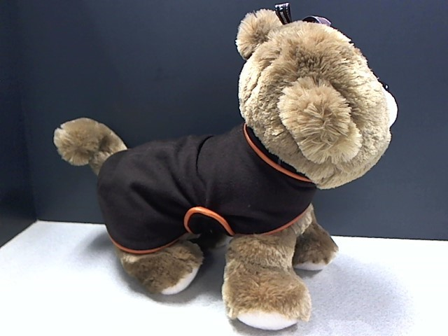 HERMÈS BROWN & ORANGE FLEECE ADJUSTABLE  DOG COAT