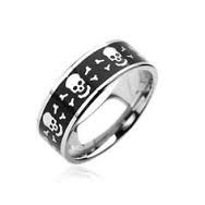 Gent's Ring Silver Stainless 4.6dwt