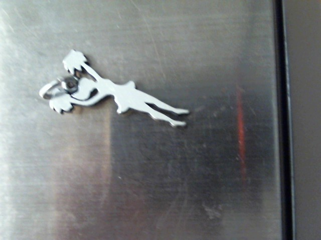 Silver Charm 925 Silver 1.2dwt