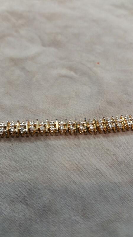 Silver Bracelet 925 Silver 13.9dwt