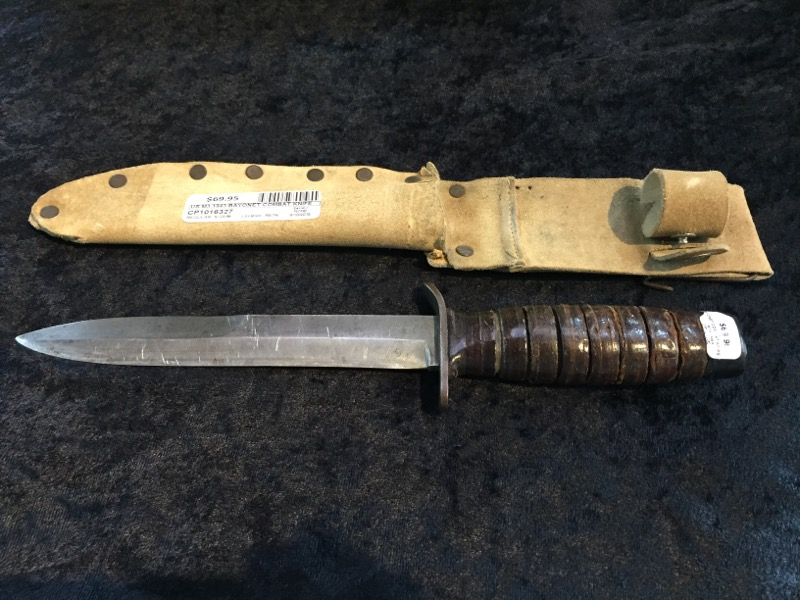 US M3 1943 BAYONET COMBAT KNIFE