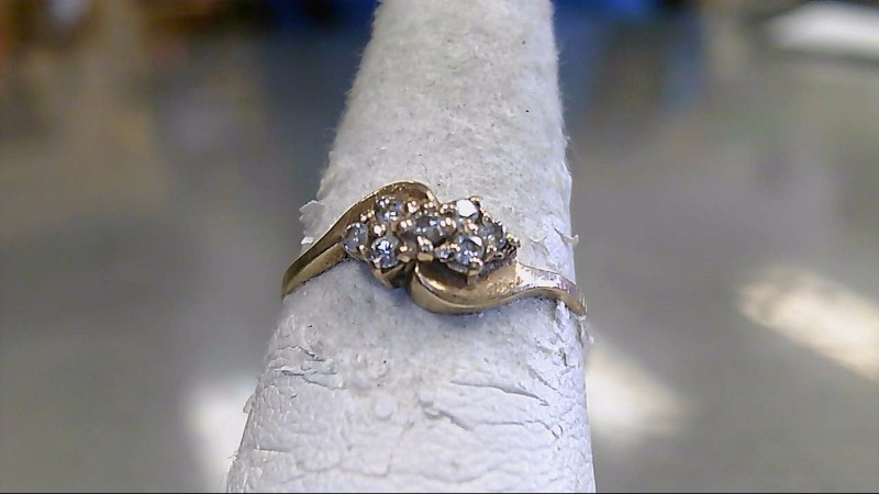 Lady's Gold Ring 10K Yellow Gold 1.9g Size:5.5