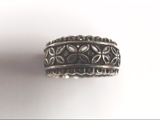 Lady's Silver Ring 925 Silver 5.6g Size:9